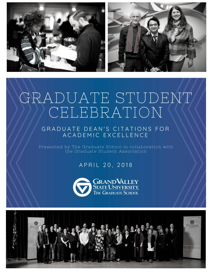 Graduate Dean's Citation Program for Winter 2018
